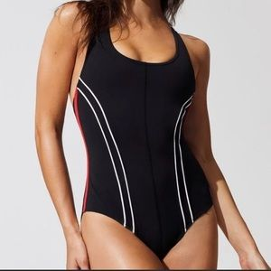 Free People Movement Delta Bodysuit In Black